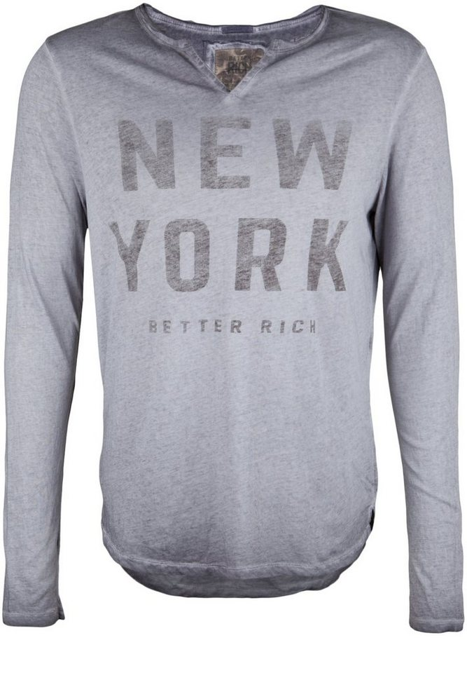 Better Rich Longsleeve »DIVIDE NEW YORK« in rabbit