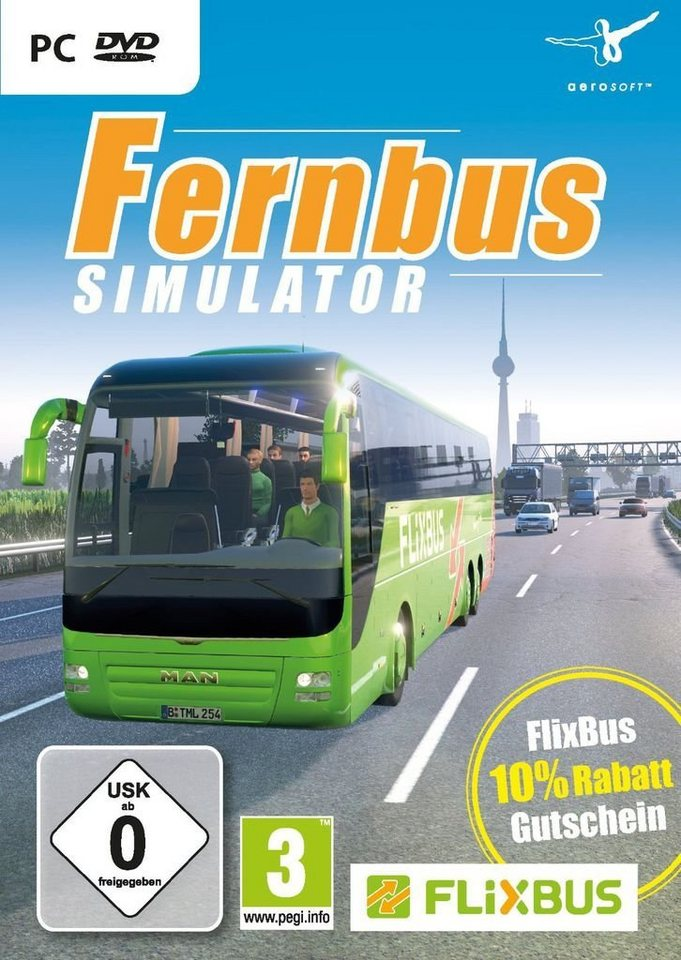 nbg pc spiel der fernbus simulator kaufen otto. Black Bedroom Furniture Sets. Home Design Ideas
