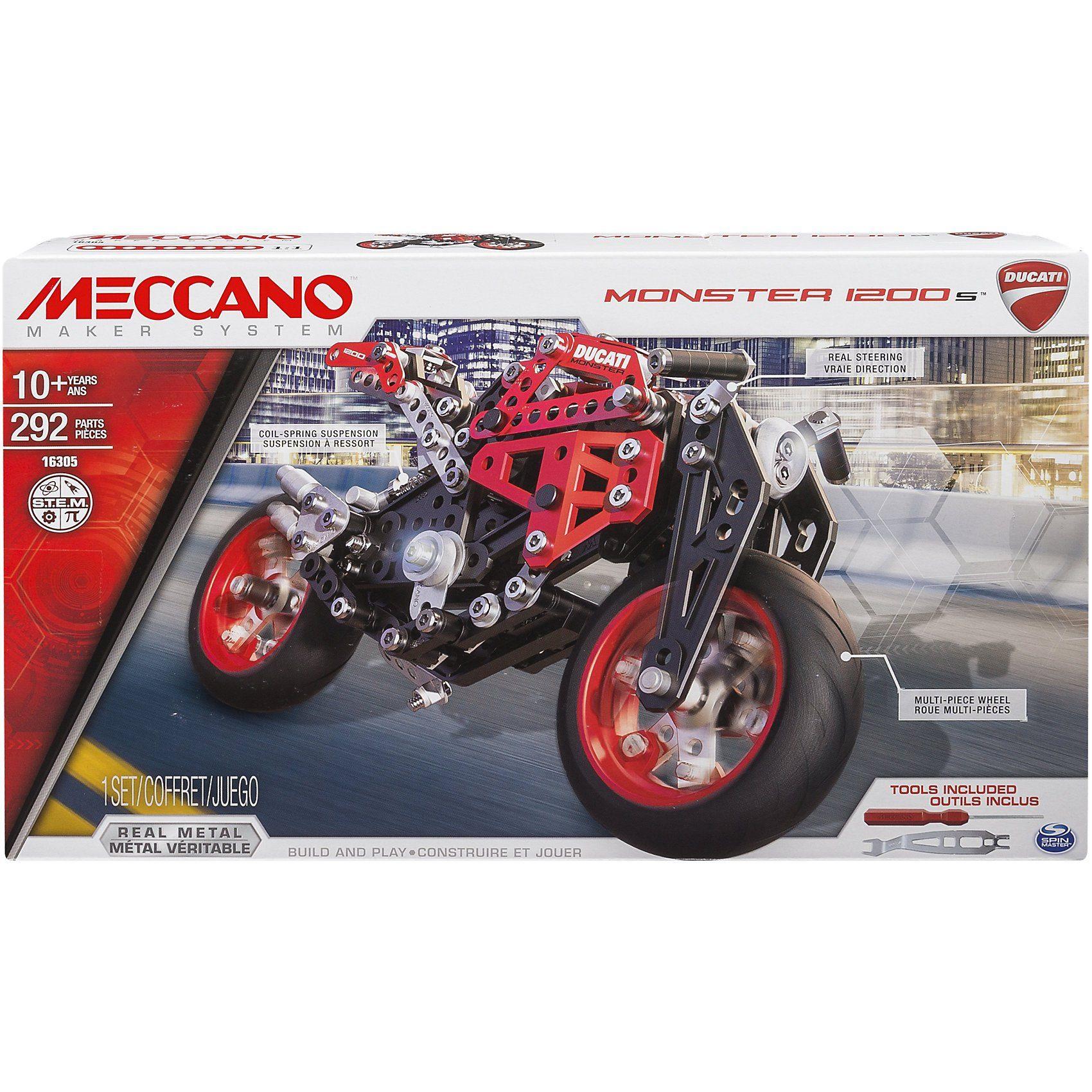 Meccano Elite Motorcycle Ducati