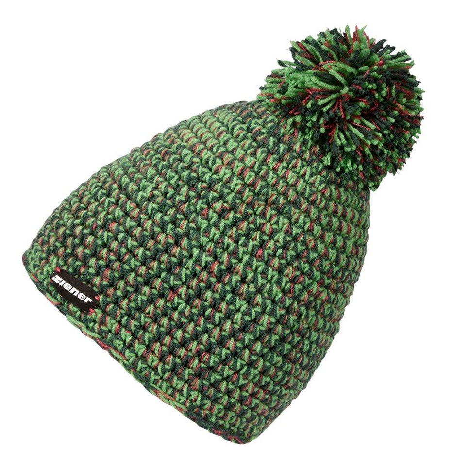 Ziener Mütze »INTERREGIONAL hat« in green fern