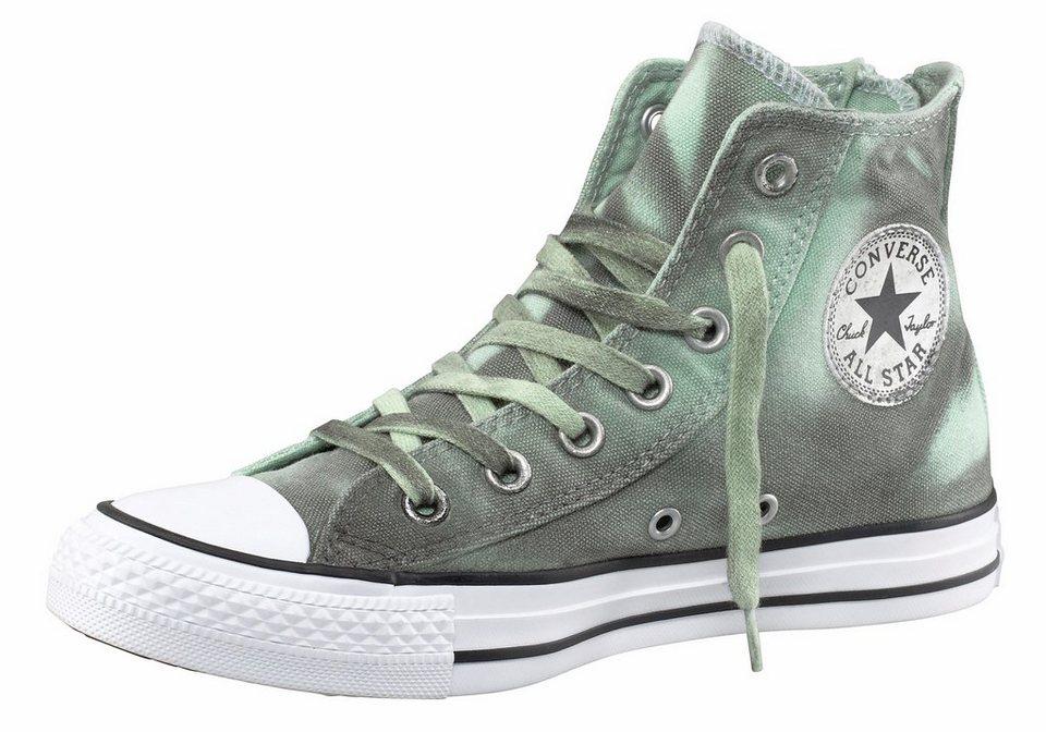 Converse Dual Zip Sneaker in Grün-Grau