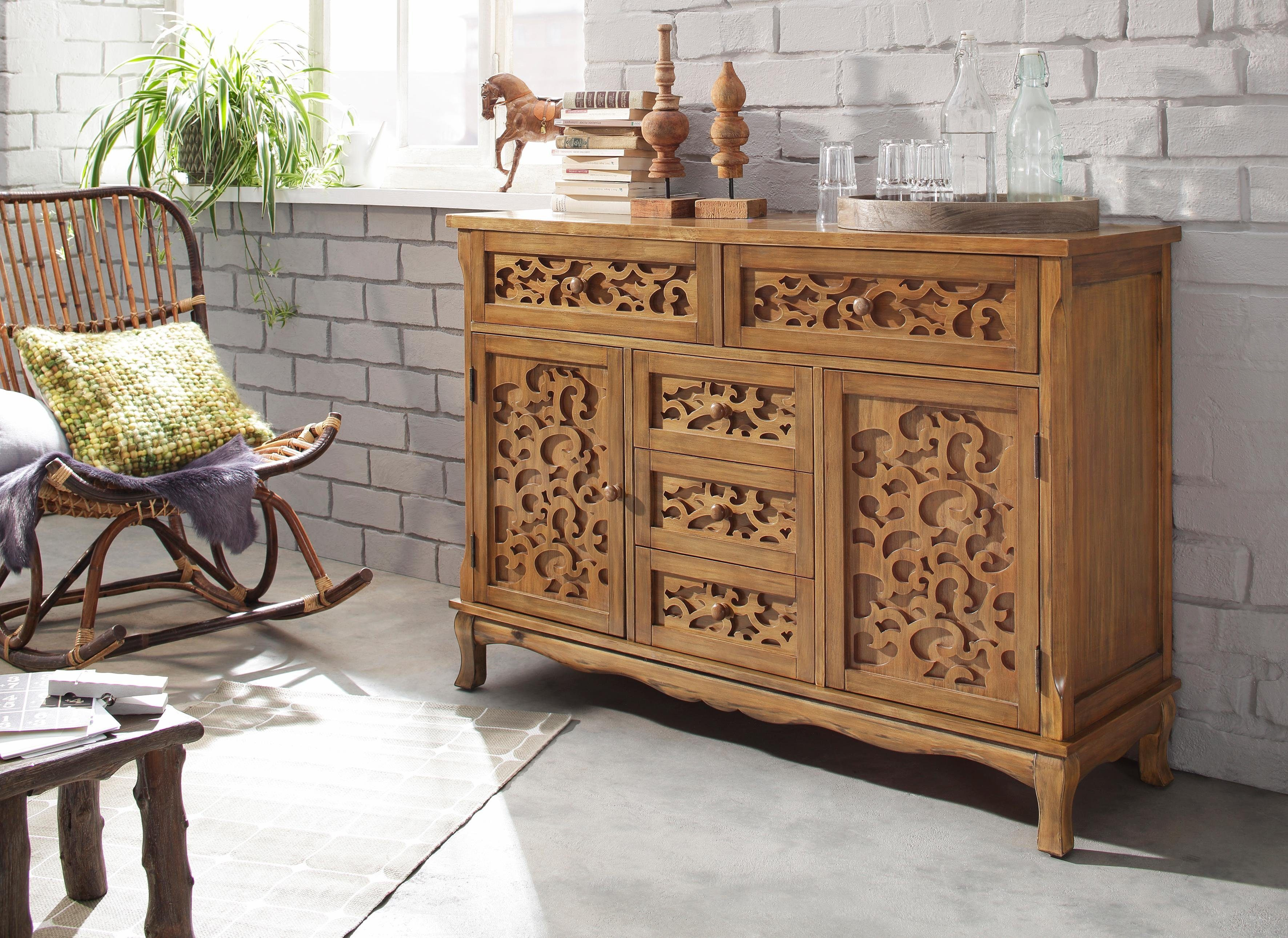 Home affaire Sideboard, Breite 130 cm