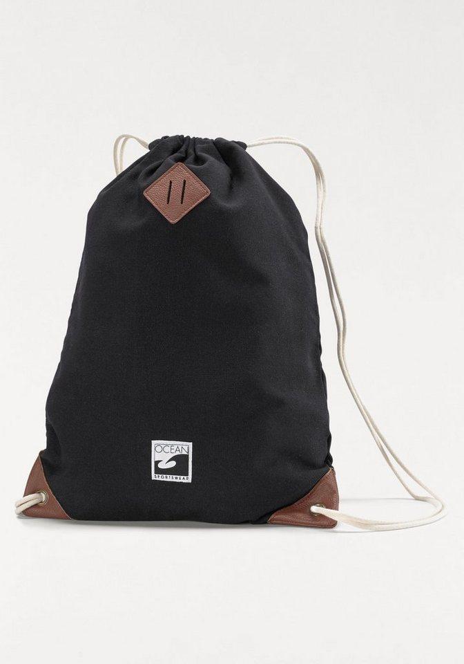 Ocean Sportswear Turnbeutel in schwarz
