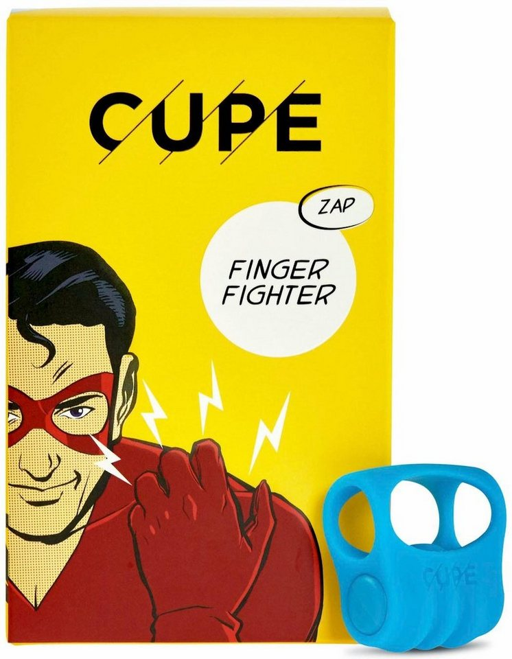 Cupe Fingervibrator Finger Fighter in Big Blue