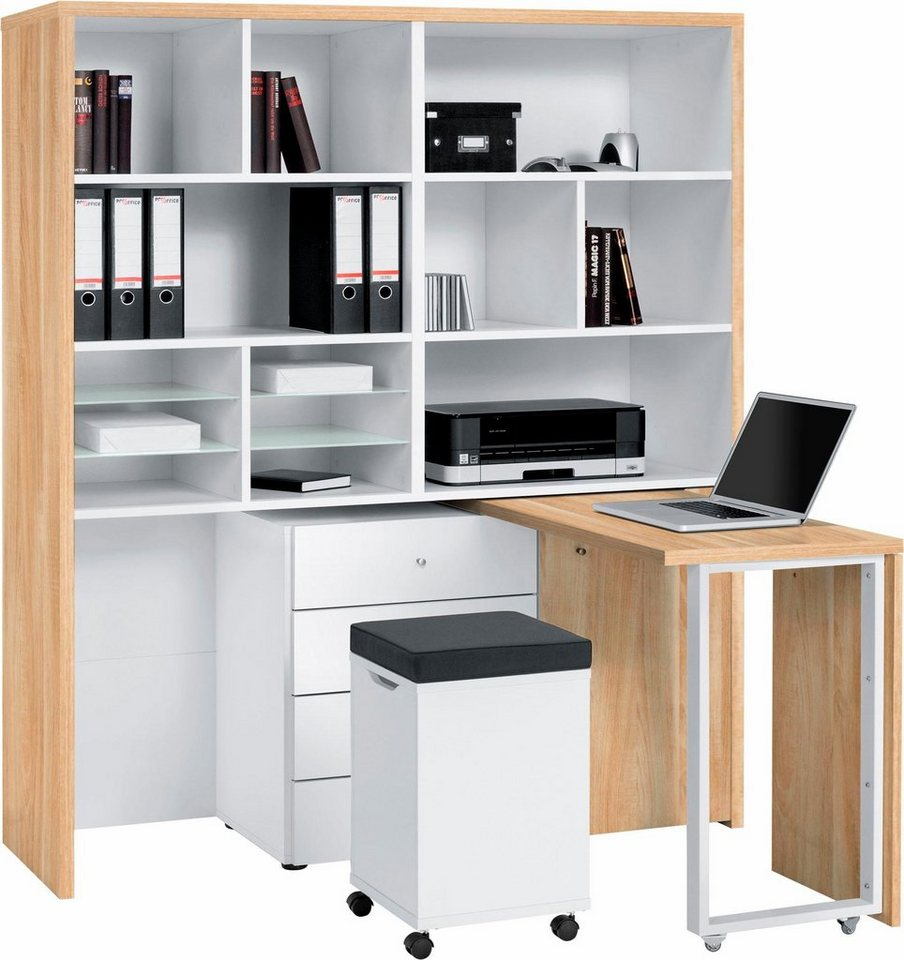 maja m bel minioffice 9566 online kaufen otto. Black Bedroom Furniture Sets. Home Design Ideas