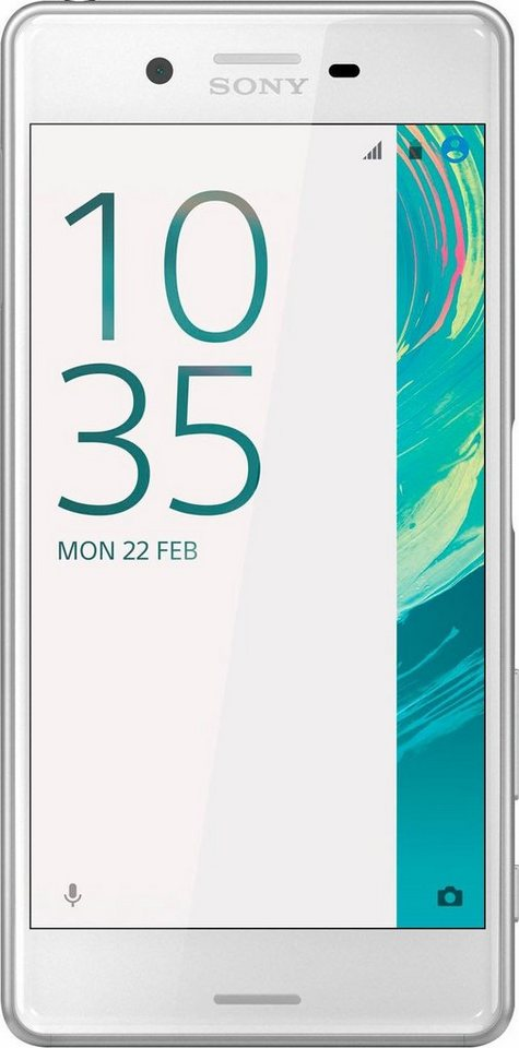 Sony Xperia X Performance Smartphone, 12,7 cm (5 Zoll) Display, LTE (4G), Android 6.0 (Marshmallow) in weiß