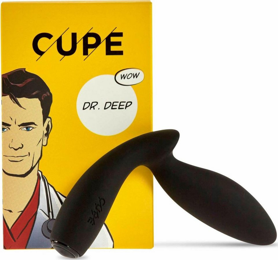 Cupe Analvibrator Dr. Deep in Power Black