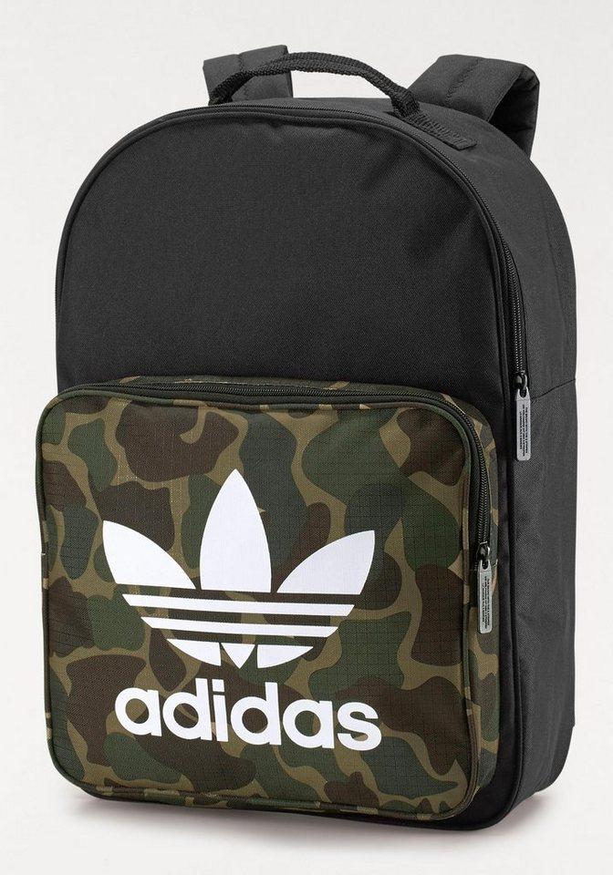 adidas Originals Daypack »CLASSIC BP CAMO« in schwarz-khaki
