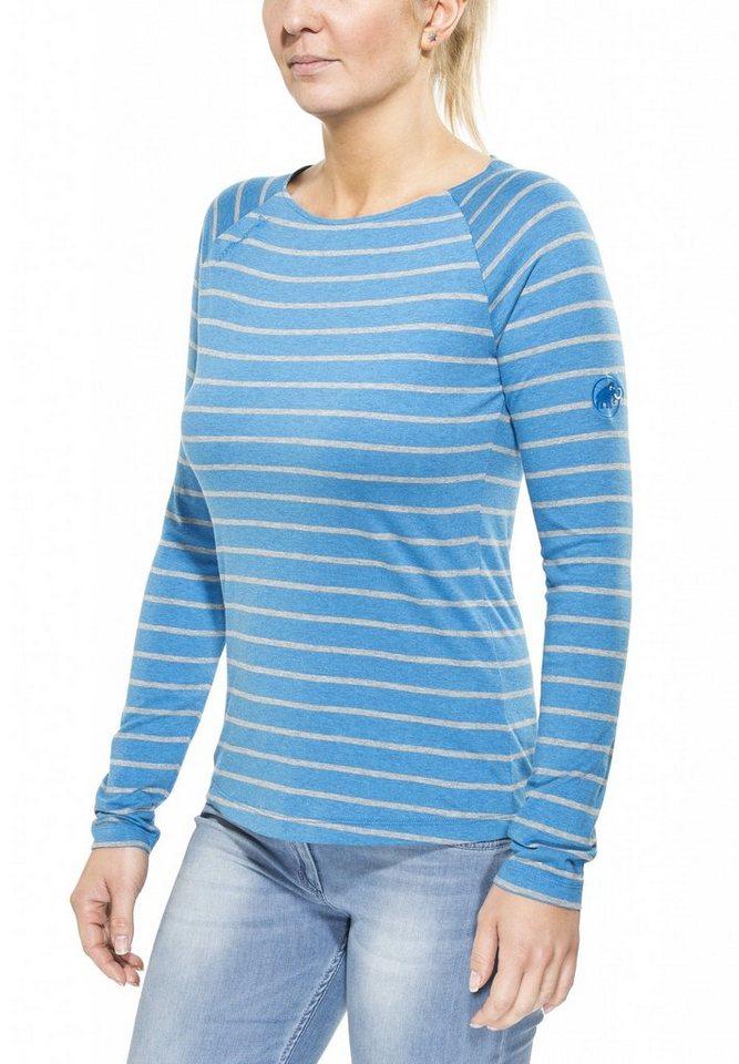 Mammut Shirt »Wall Longsleeve Shirt Women« in blau