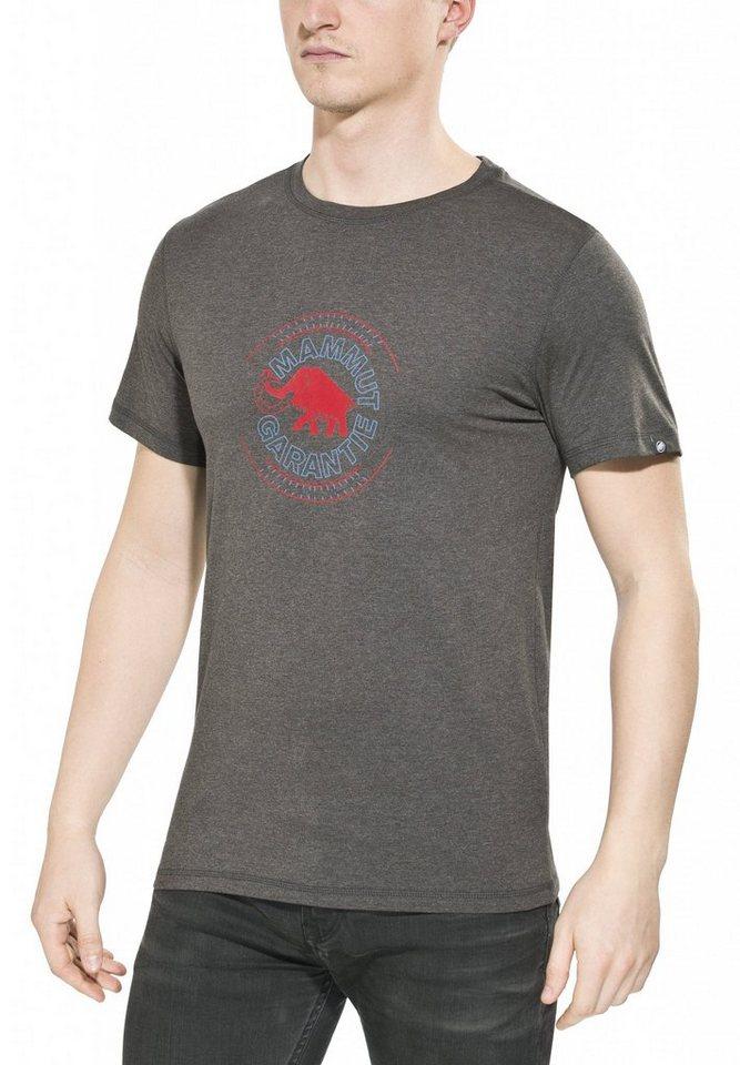 Mammut T-Shirt »Garantie T-Shirts Men« in grau