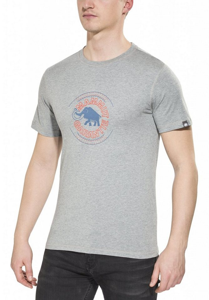 Mammut T-Shirt »Garantie T-Shirts Men« in grau
