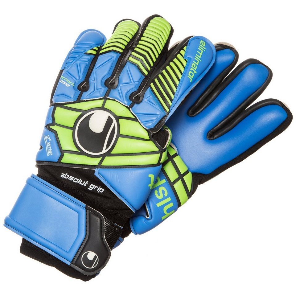 UHLSPORT Eliminator Absolutgrip HN Torwarthandschuh Herren in schwarz / blau