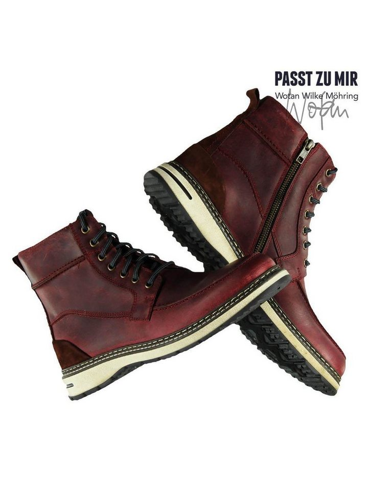 engbers Schuhe in Weinrot