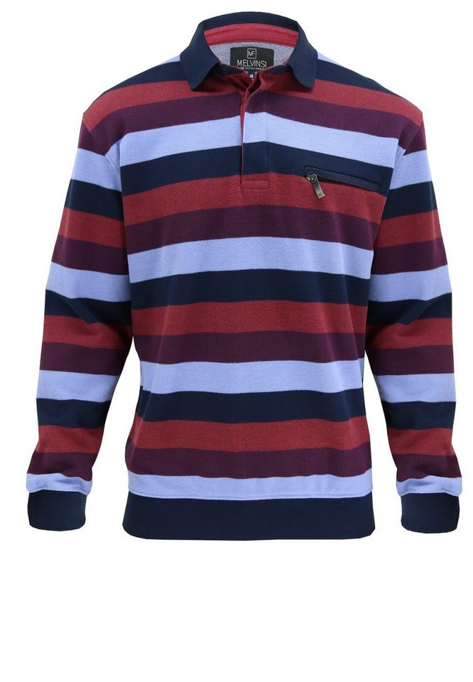 melvinsi fashion Pullover in Weinrot