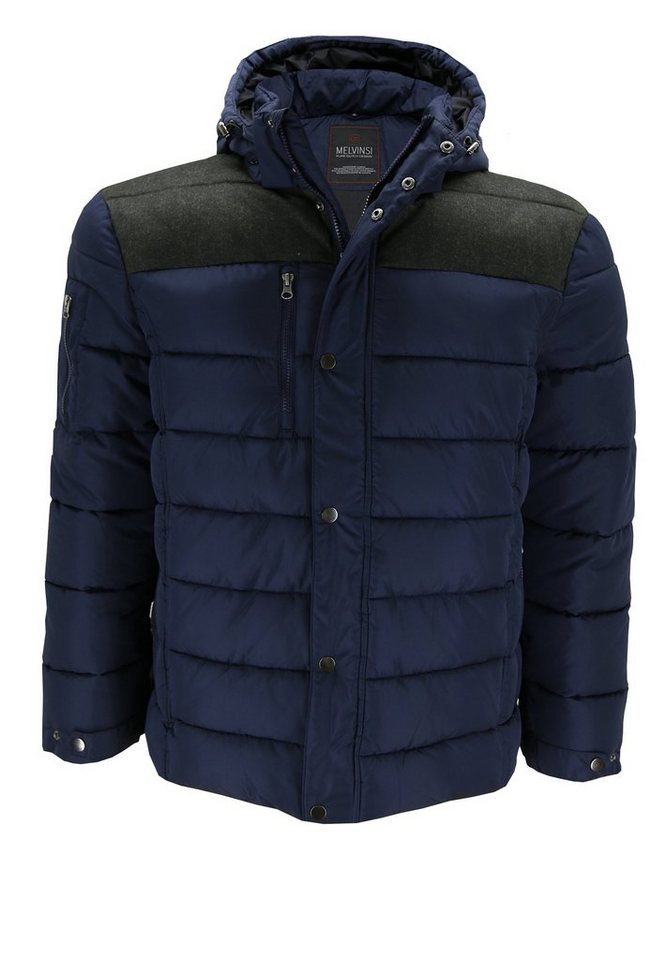 melvinsi fashion Winterjacke in Marineblau