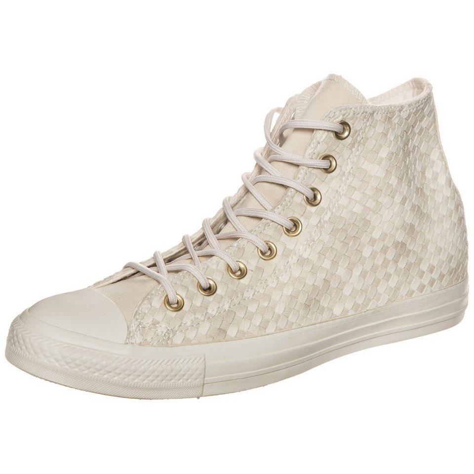 CONVERSE Chuck Taylor All Star Denim Woven High Sneaker in beige / weiß