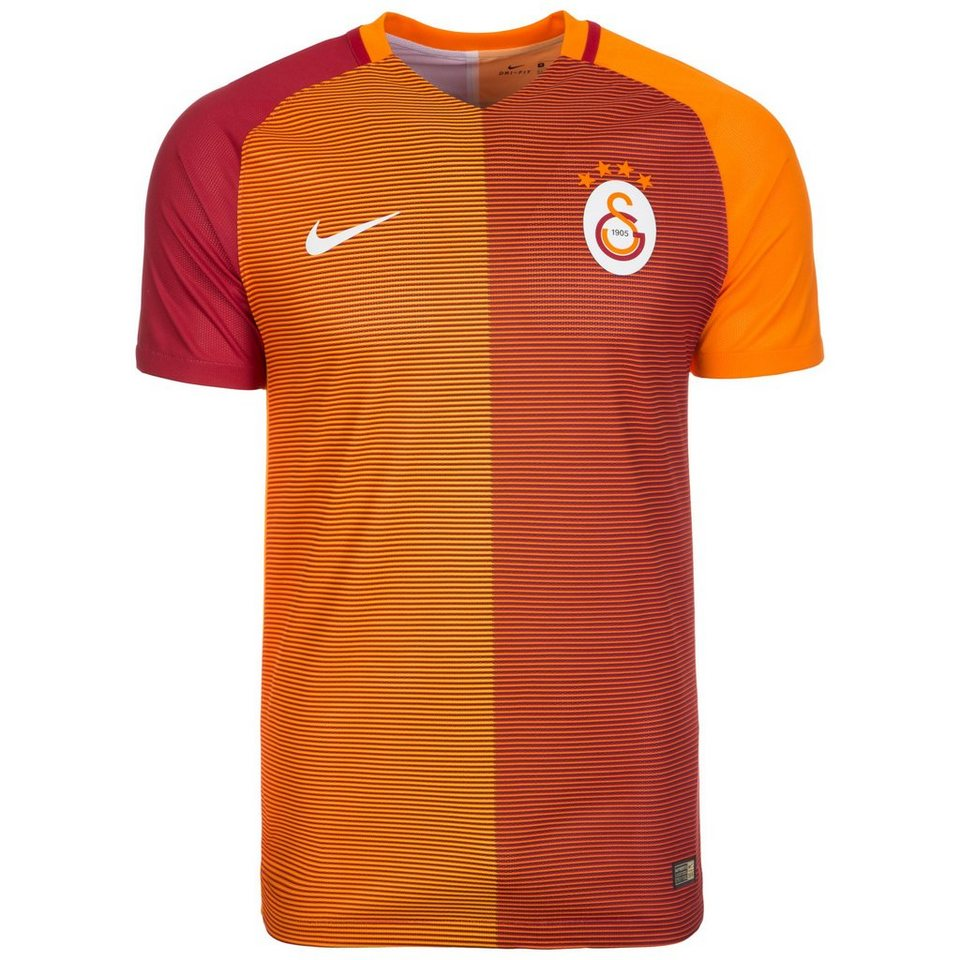 NIKE Galatasaray Istanbul Vapor Match Trikot Home 2016/2017 Herren in rot / orange