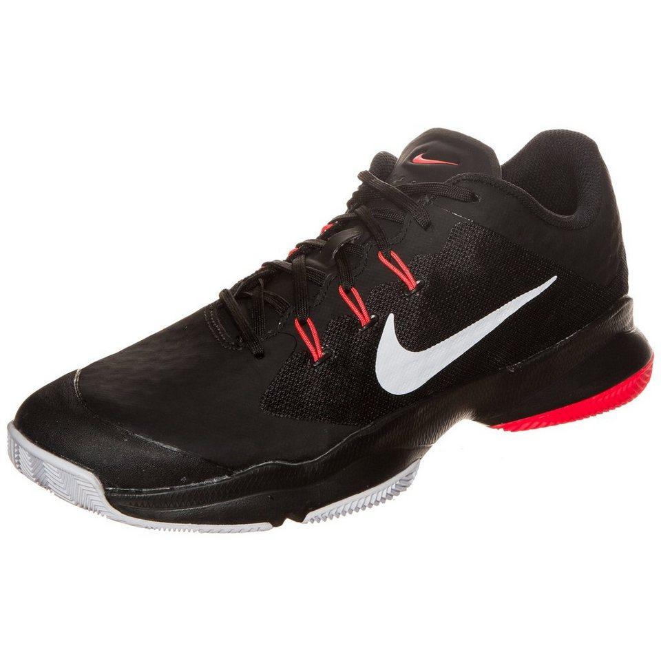 NIKE Air Zoom Ultra Clay Tennisschuh Herren in schwarz / weiß / rot