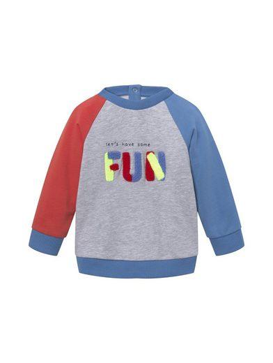 TOM TAILOR Langarmshirt »Buntes Sweatshirt mit Artwork«