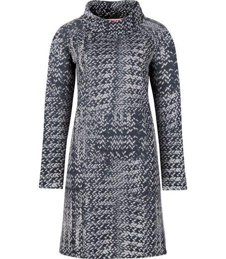 TRIGEMA Kleid mit Schalkragen