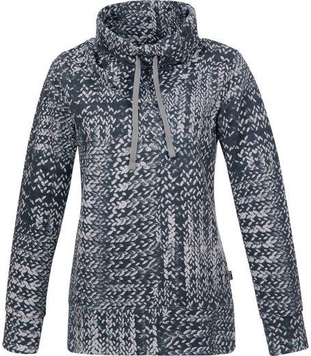 TRIGEMA Sweatshirt in Strickoptik