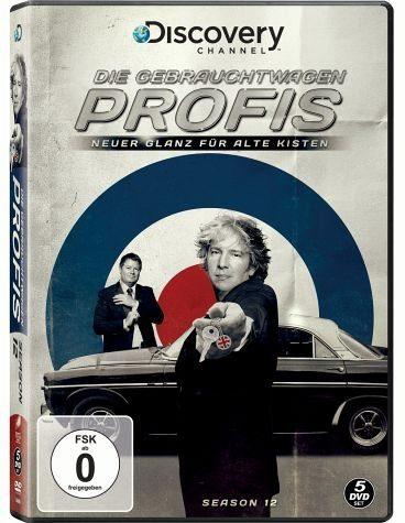 DVD »Die Gebrauchtwagen-Profis: Neuer Glanz für...«