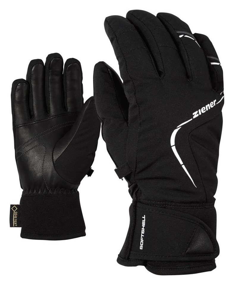 Ziener Handschuh »KASSANDRA GTX(R)+Gore warm PR lady « in black/white