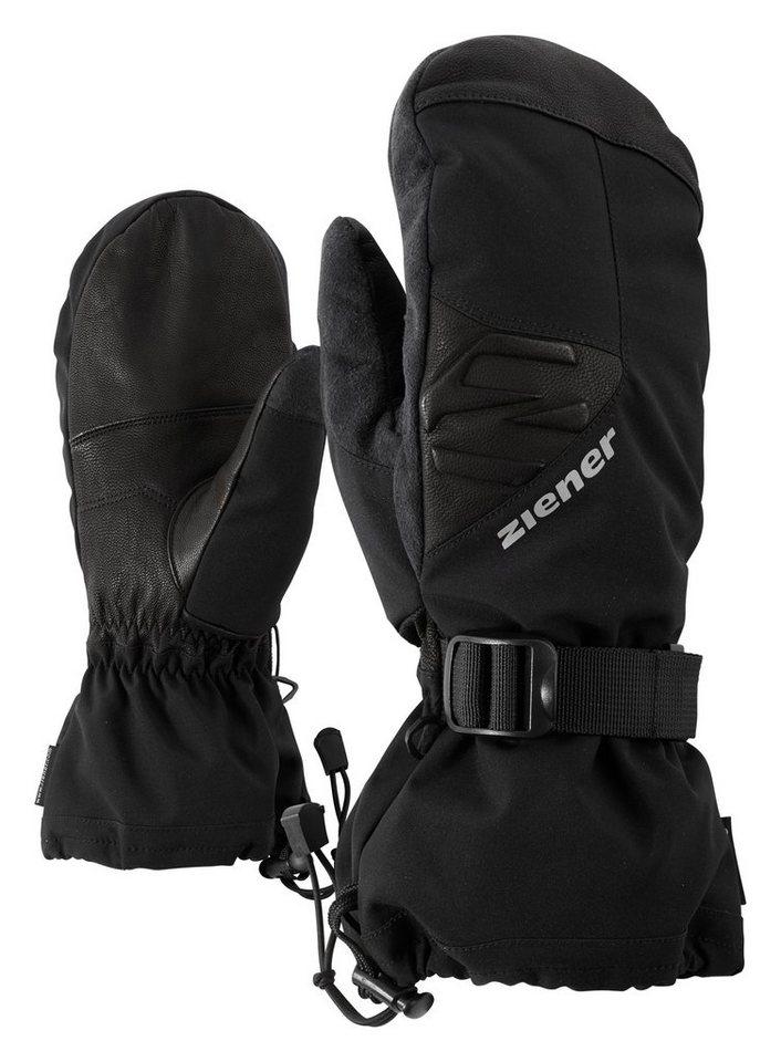 Ziener Handschuh »GOFRIEDO AS(R) MITTEN glove ski alp« in black