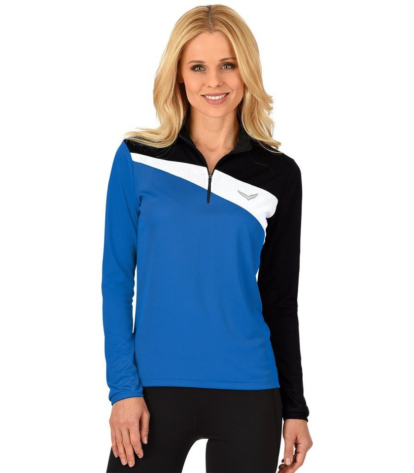 TRIGEMA COOLMAX Sport-Shirt in electric-blue