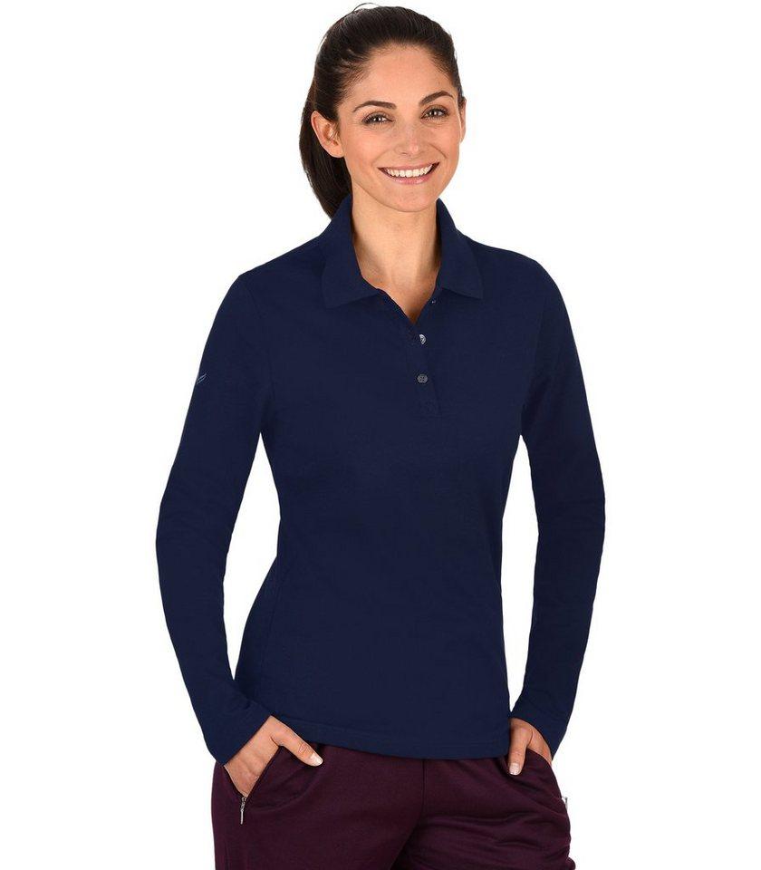 TRIGEMA Langarm Poloshirt online kaufen   OTTO 7ab0e81270
