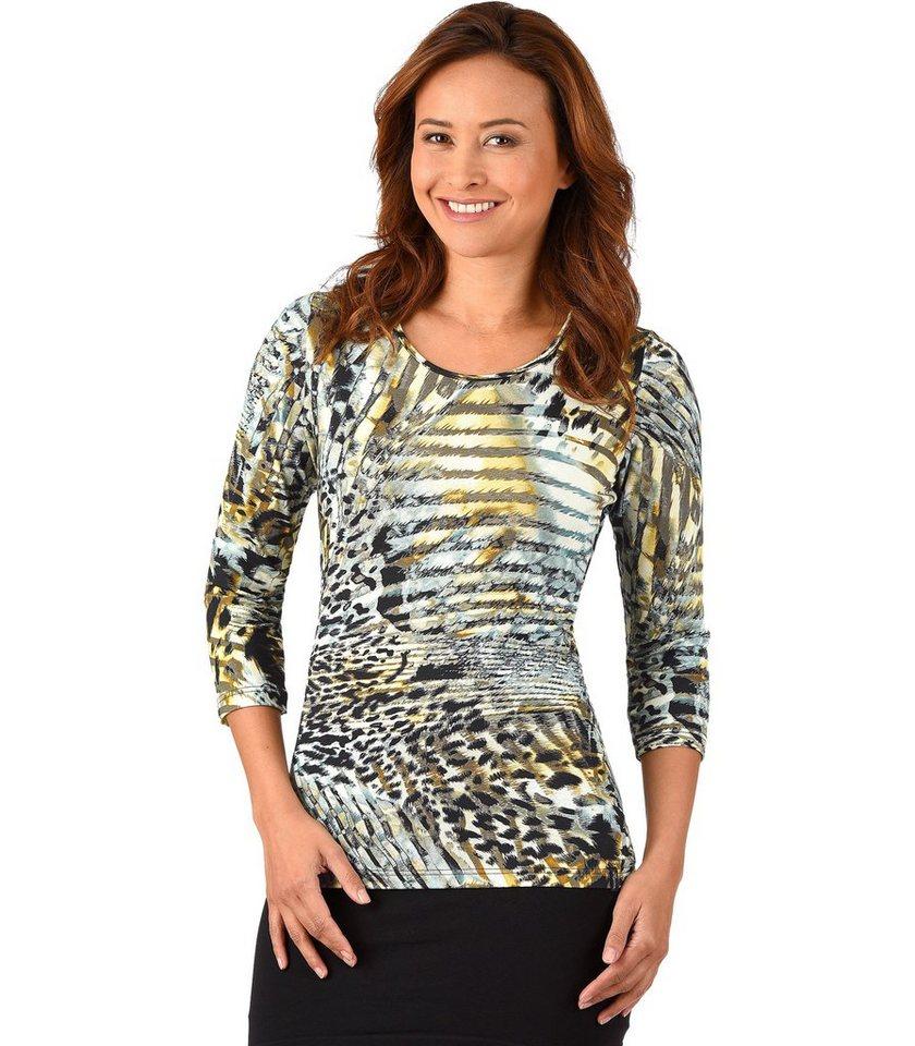 TRIGEMA Shirt Leopard in sand