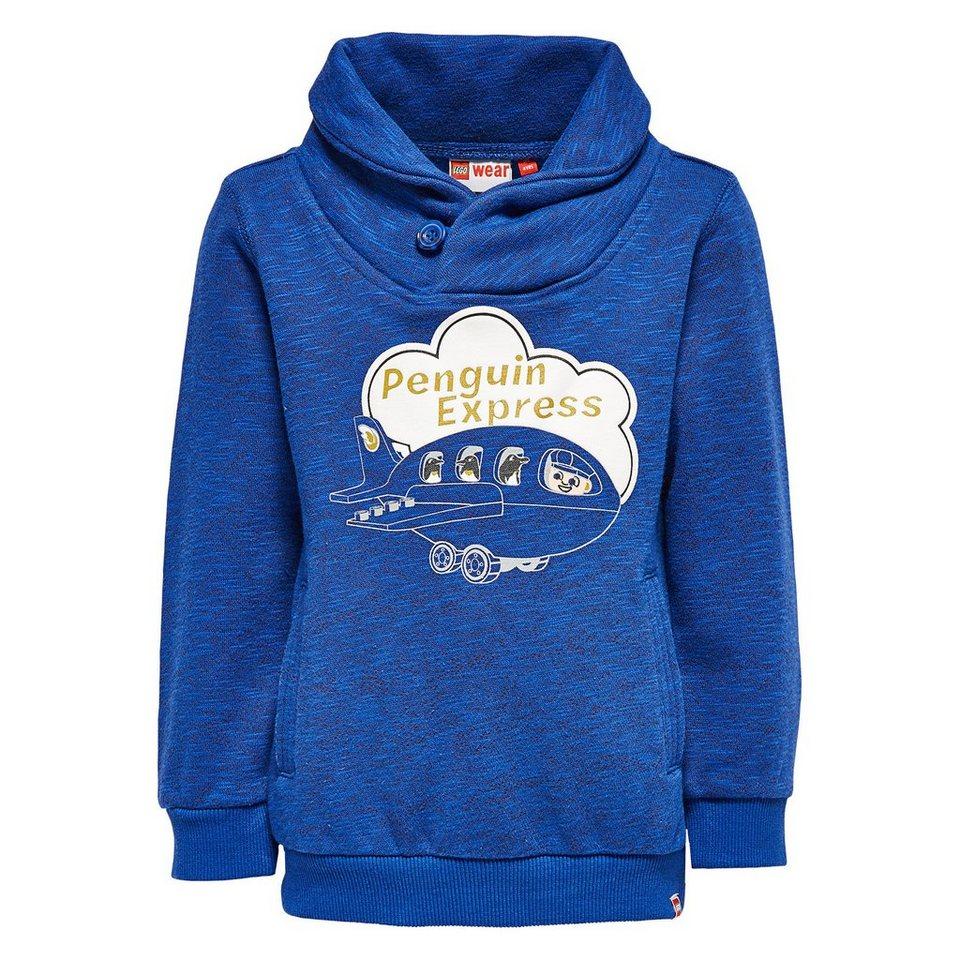 "LEGO Wear Duplo Sweatshirt ""Penguin Express"" Shirt Shay langarm in dunkelblau"