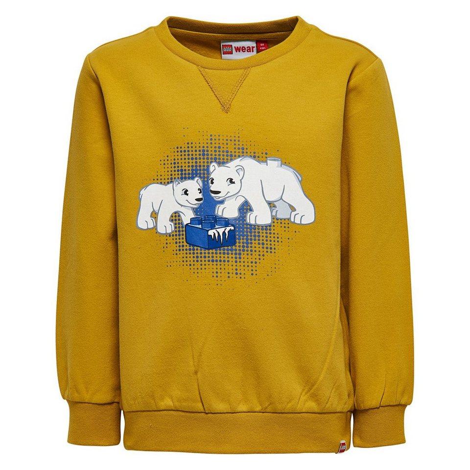 "LEGO Wear Duplo Sweatshirt ""Eisbär"" Shay langarm Shirt in gelb"