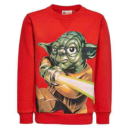 "LEGO Wear STAR WARS(TM) Sweatshirt ""Yoda"" Skeet langarm Shirt"