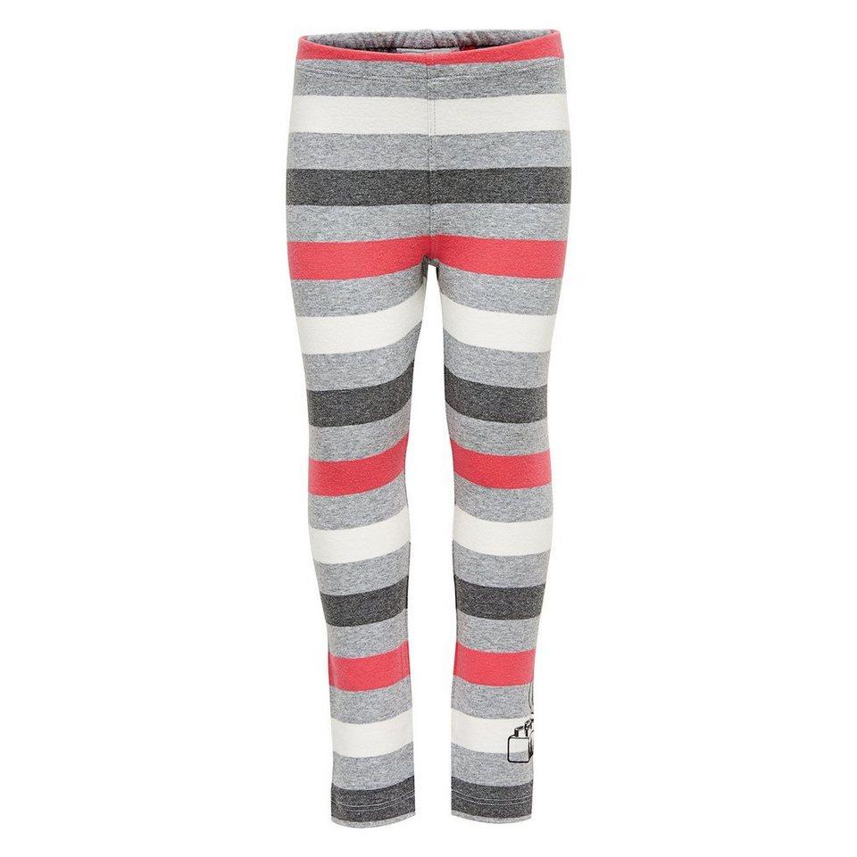 "LEGO Wear Duplo Leggings Pyrene ""Streifen"" Hose in pink"
