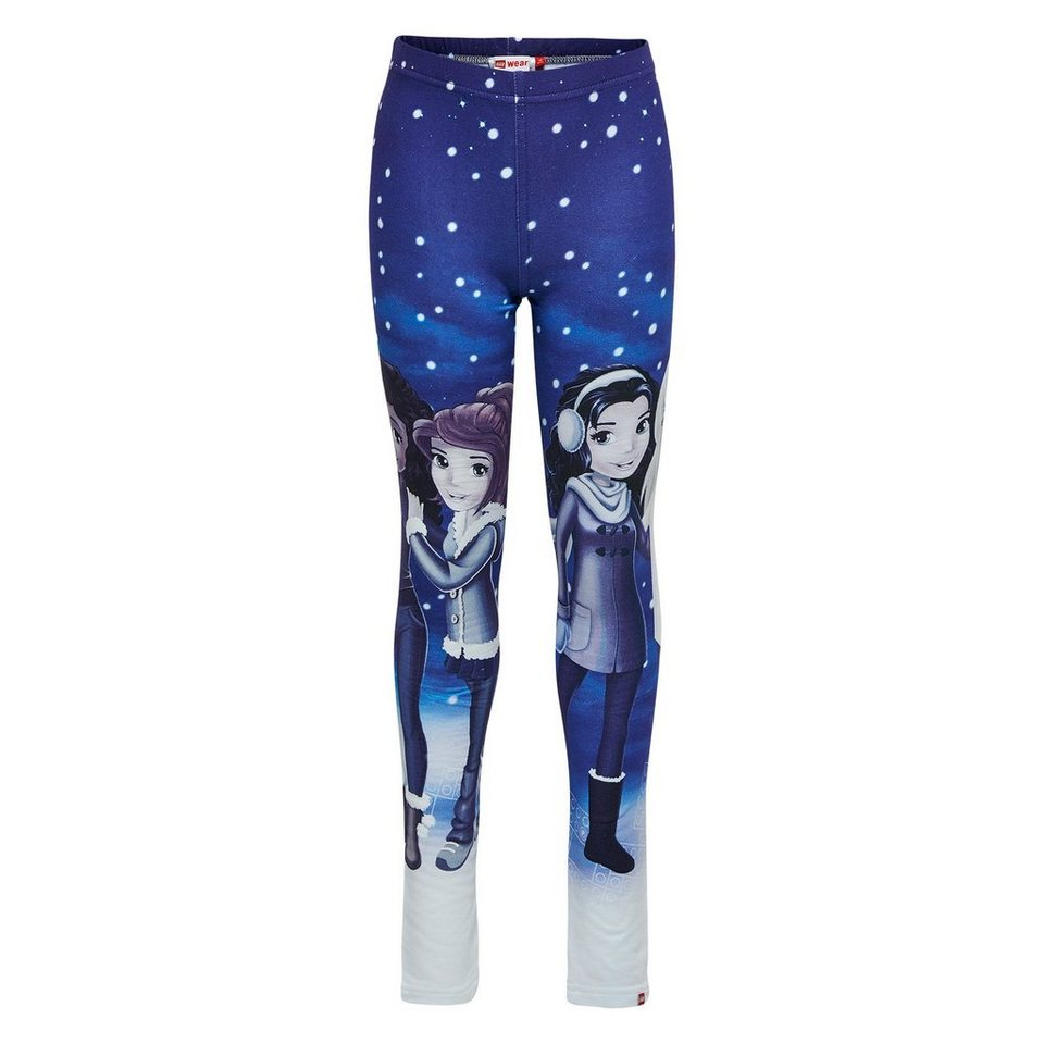 "LEGO Wear Friends Leggings ""Wintertraum"" Porta in dunkelblau"