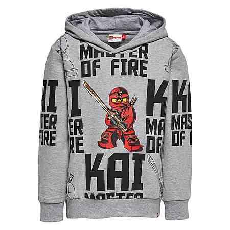 "LEGO Wear Ninjago Kapuzensweatshirt ""Kay - Master of Fire"" Skeet langarm S"