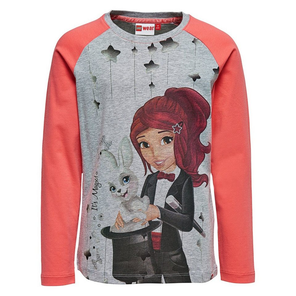"LEGO Wear Friends Langarm-T-Shirt Tamara ""Magic"" langarm Shirt in pink"