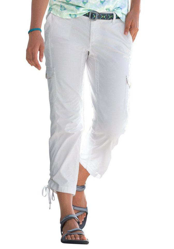 Eddie Bauer 3/4-Ripstop Hose in Weiß