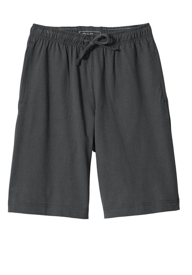 Eddie Bauer Jersey Shorts in Dunkelgrau