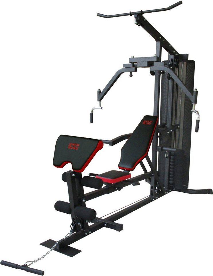 MOTIVE FITNESS by U.N.O. Kraftstation, »Multi-Gym Competition« in schwarz-rot