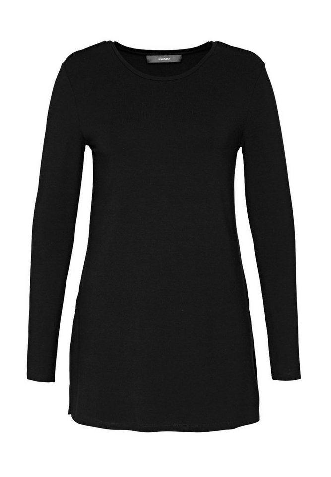 HALLHUBER Longshirt im Tunika-Style in schwarz