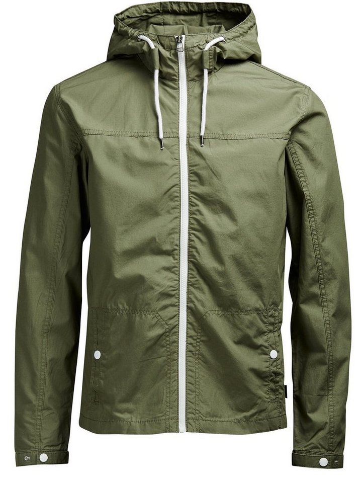 Jack & Jones Leichte Jacke in Dusty Olive