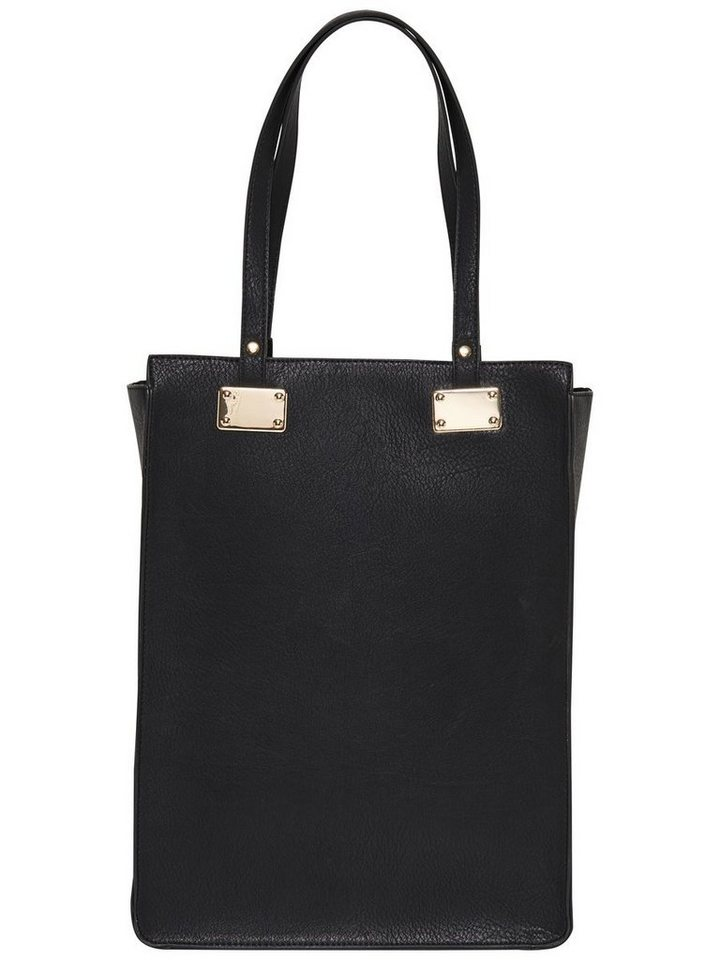 Only Lederlook- Tasche in Black