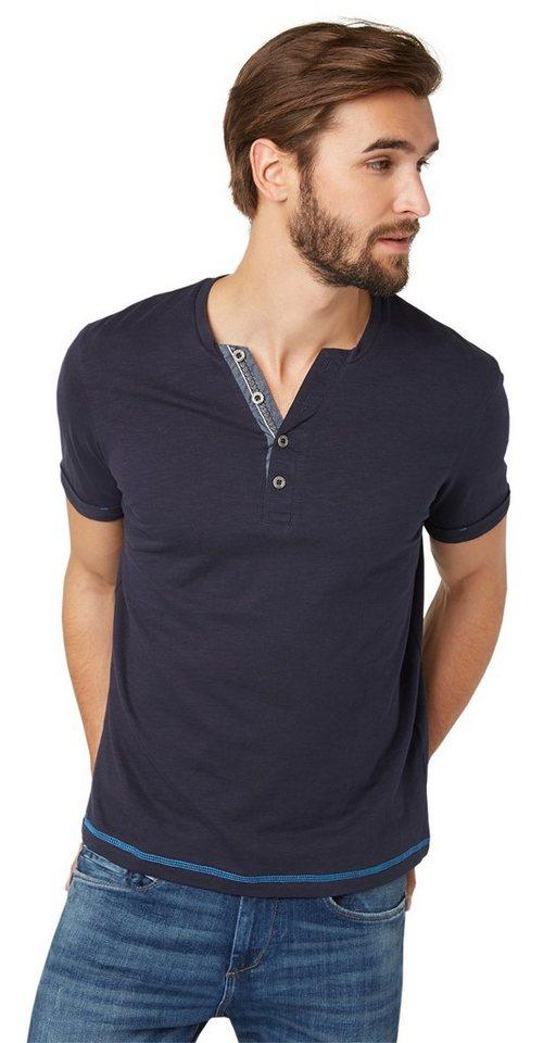 Tom tailor t shirt serafino shirt online kaufen otto for Tailored t shirts online