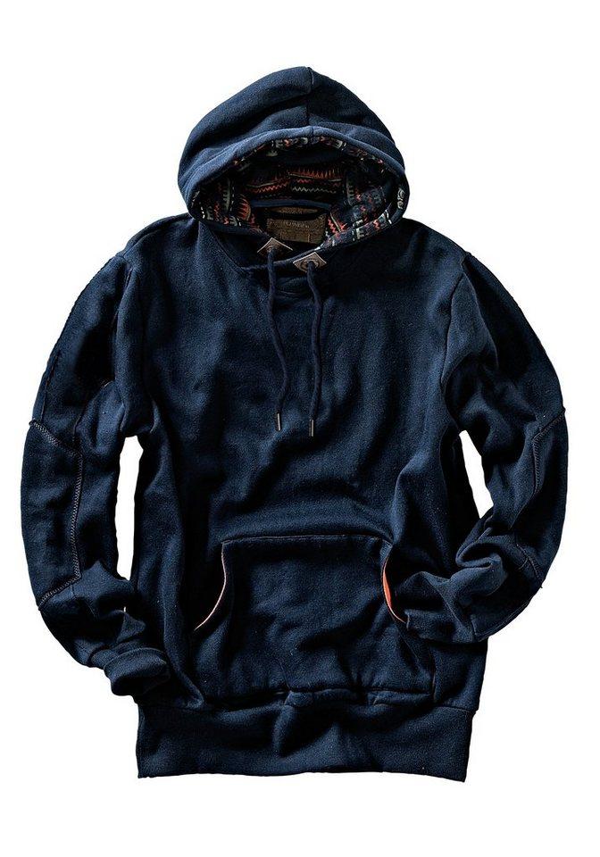 Eddie Bauer Kapuzensweater in Navy
