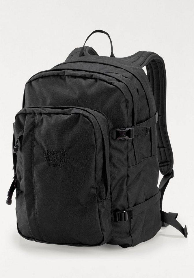Jack Wolfskin Daypack »BERKELEY« in schwarz-schwarz