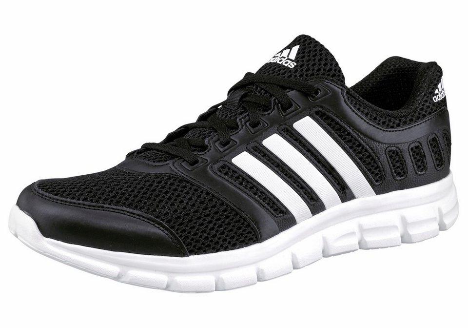 adidas Performance »Breeze 101 2 M« Laufschuh in schwarz-weiß