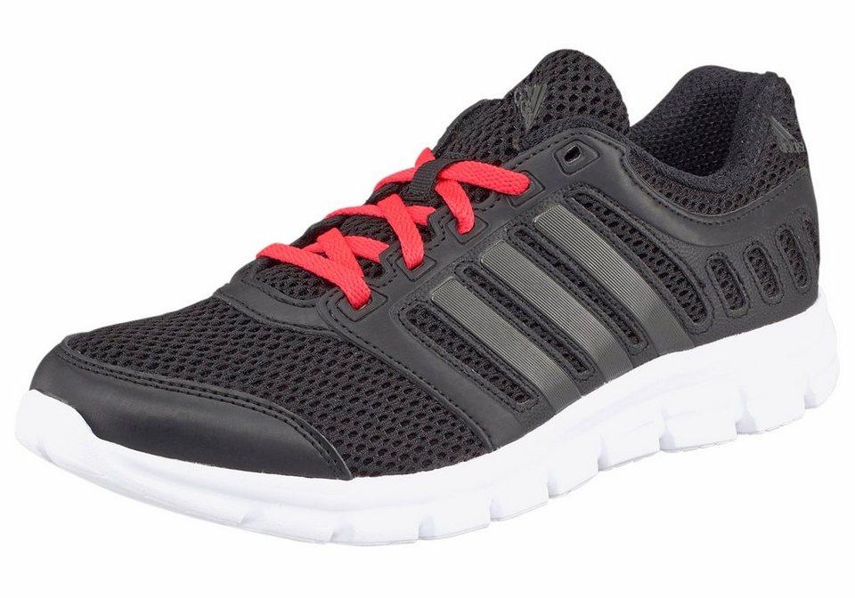 adidas Performance »Breeze 101« Laufschuh in schwarz-koralle