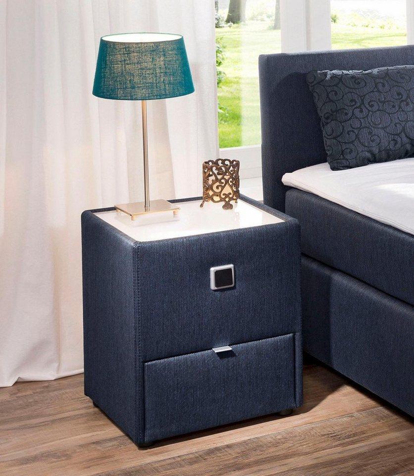 nachttisch anthrazit stoff gallery of large size of ars manufacti nachttisch nachttische. Black Bedroom Furniture Sets. Home Design Ideas